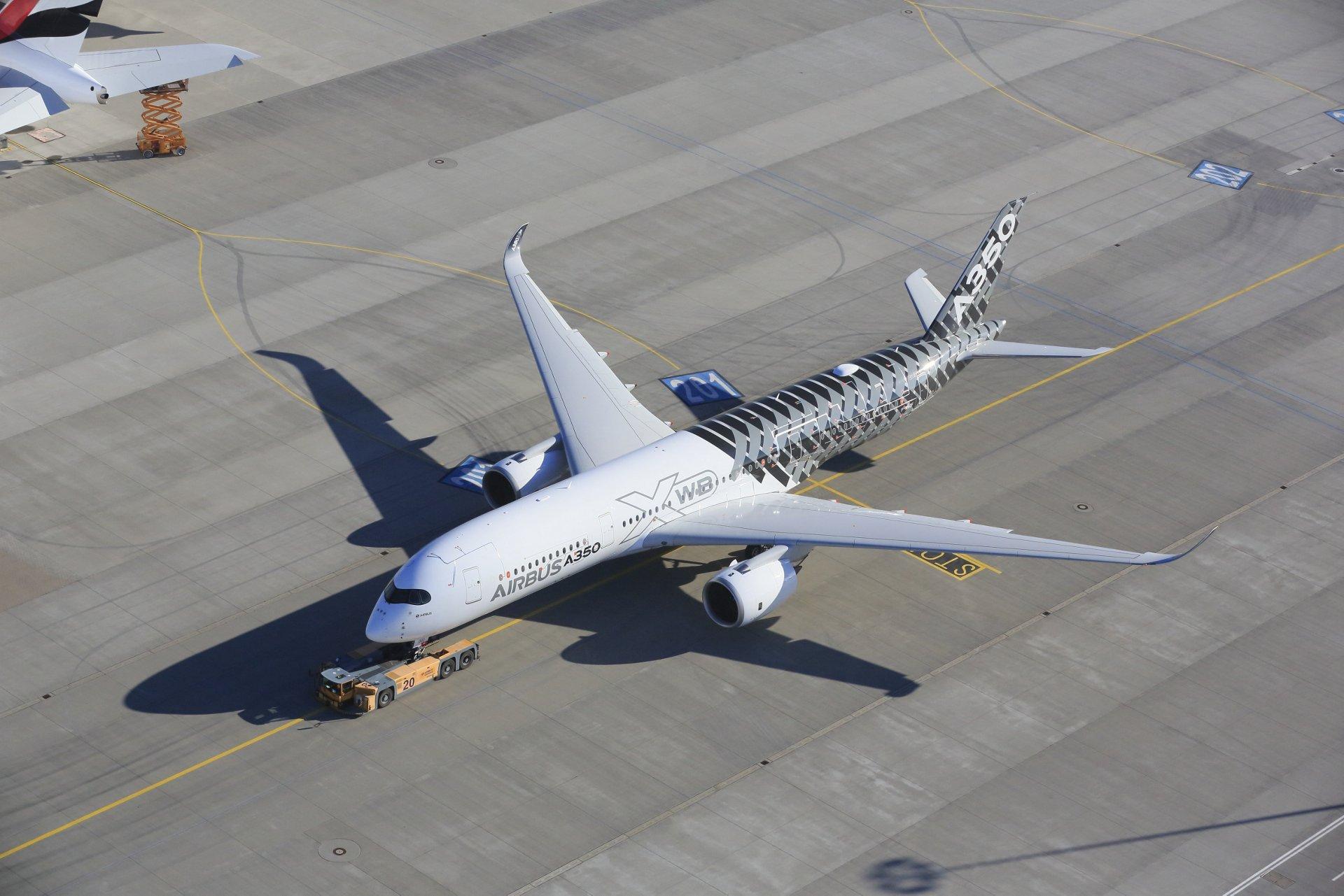 MSN2 A350于2014年3月12日从哈姆起飞