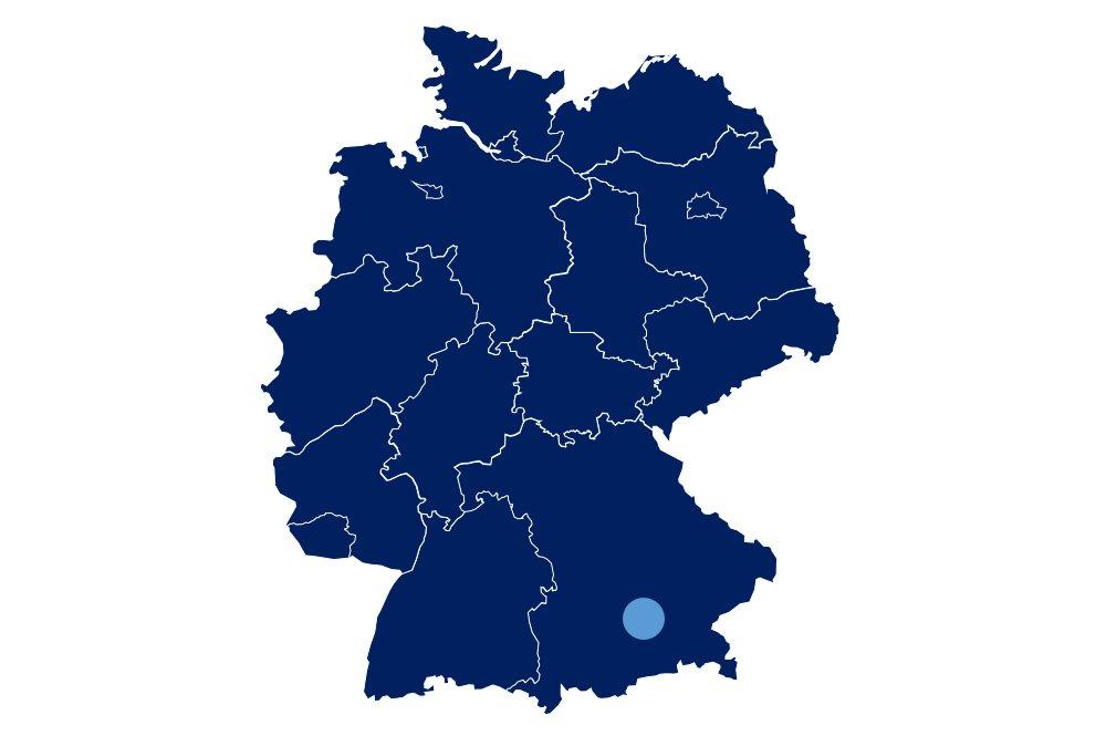 Ottobrunn Karte Mit Standortmarkierung