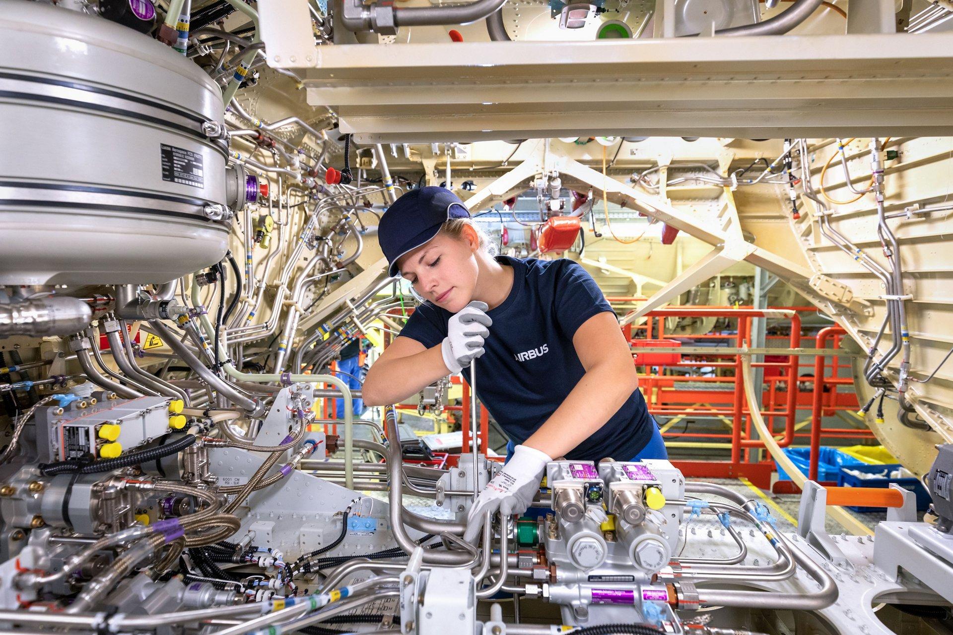 Ausbildung und Duales Studium bei Airbus in Deutschland
