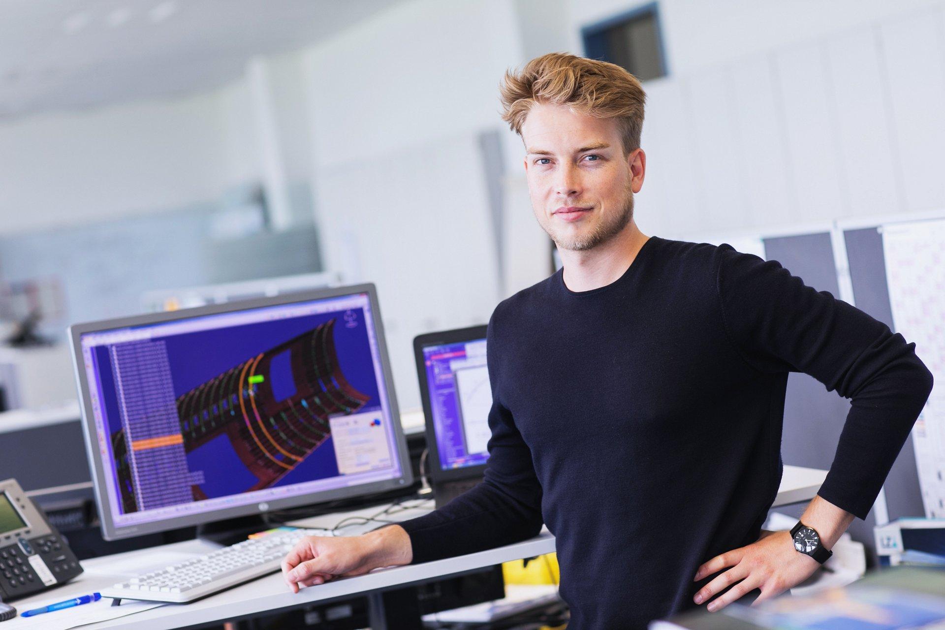 Das ist Gregor, Structure Design Engineer