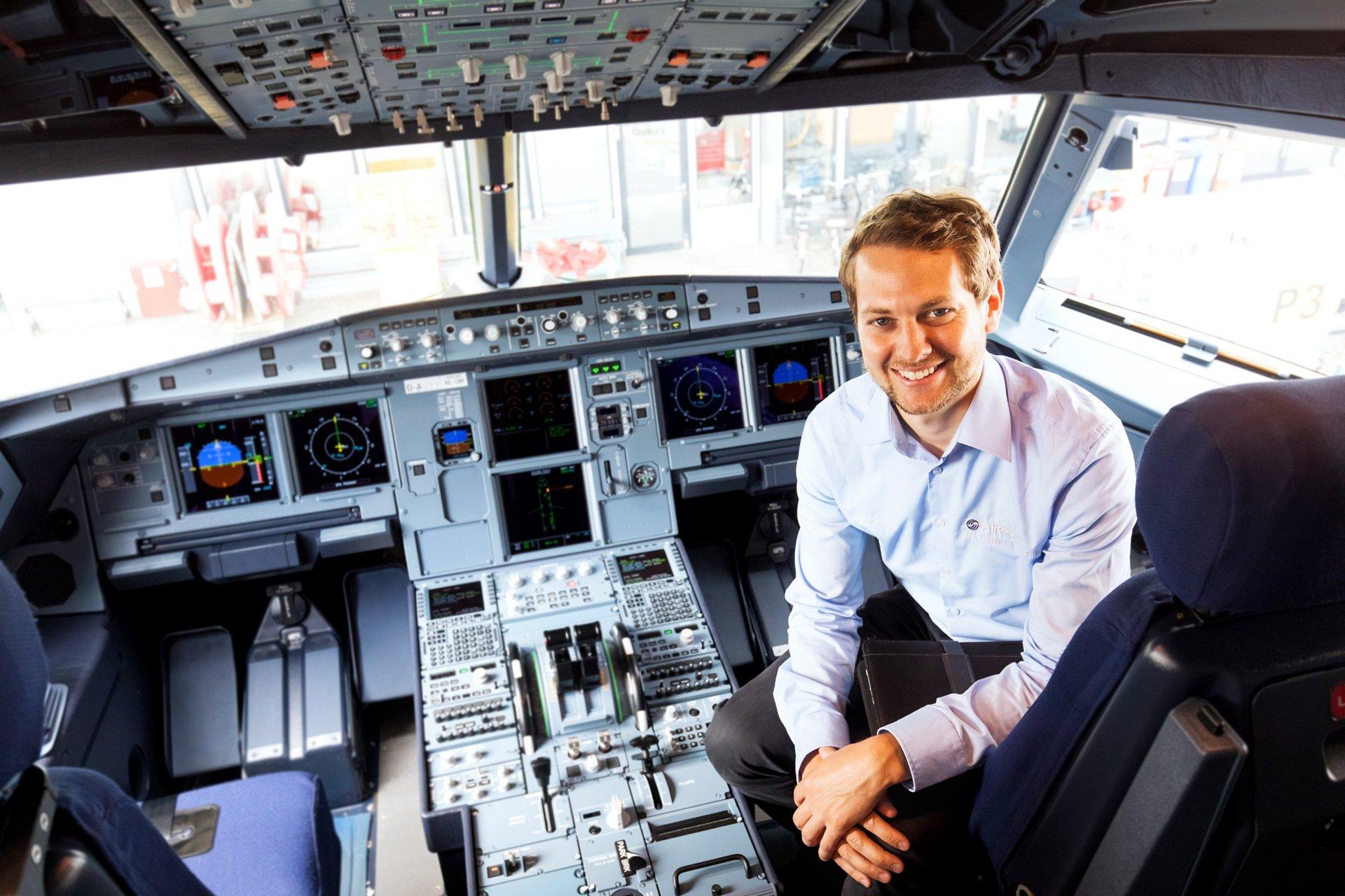 Das ist Sven, Head of Cockpit A320