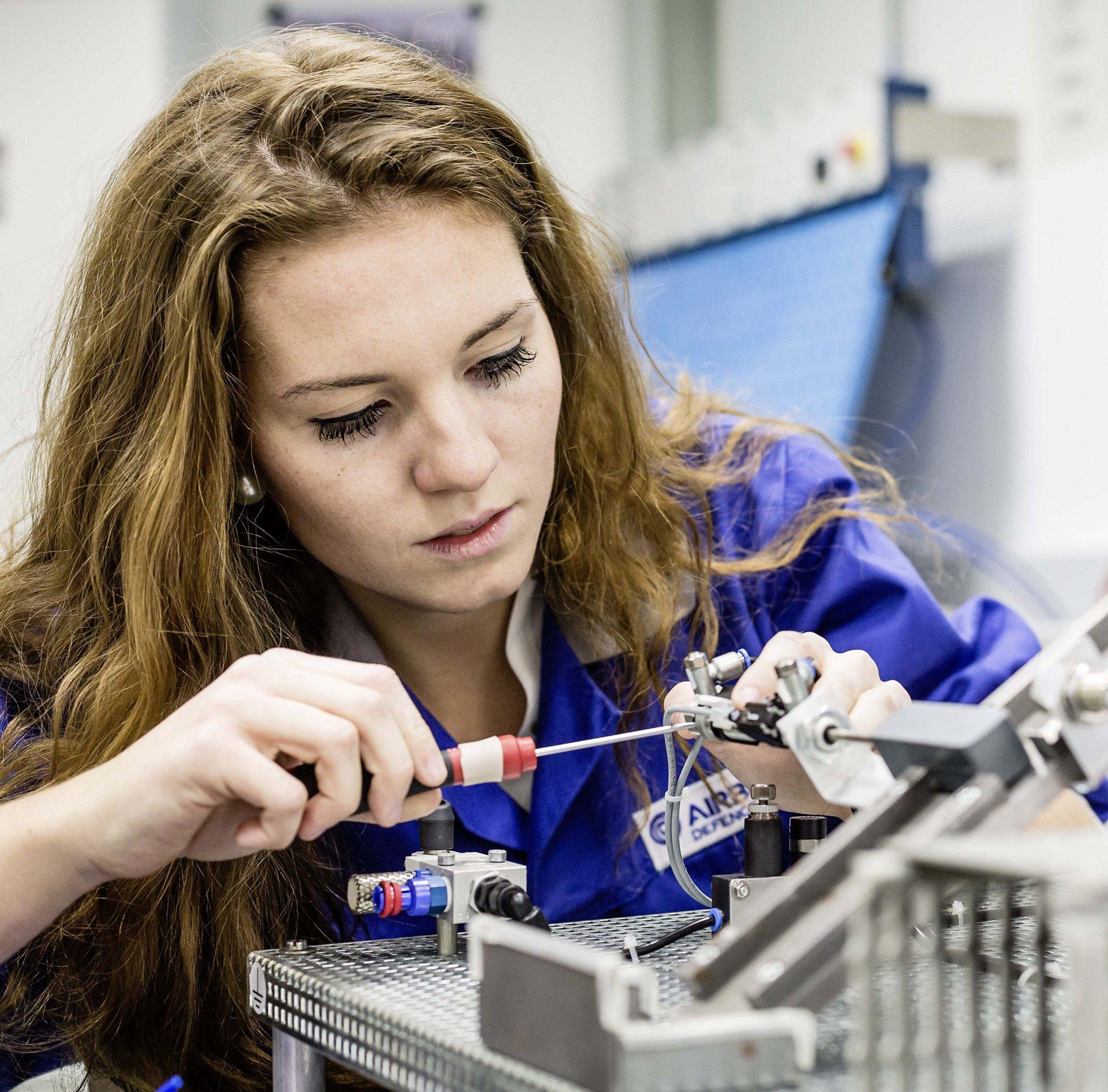 Schülerpraktikum bei Airbus
