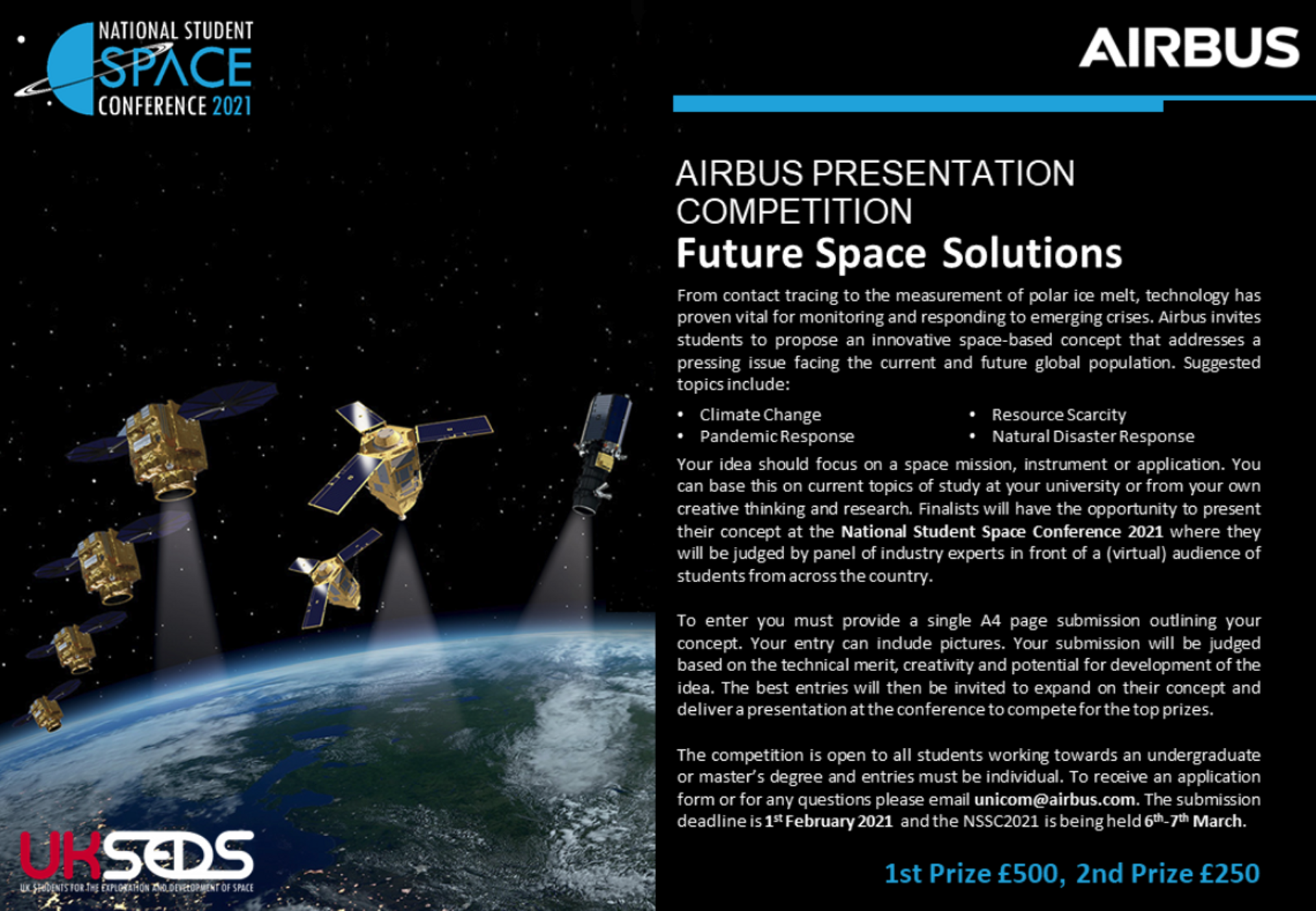Airbus Careers National Student Space Conference 2021