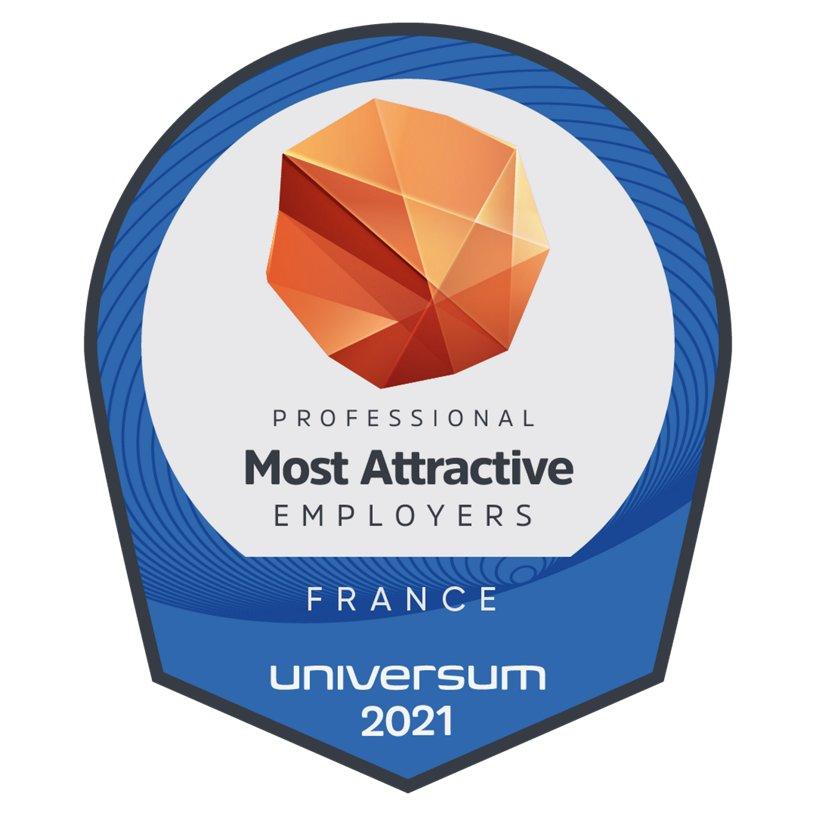 Universum Employer France Award 2021