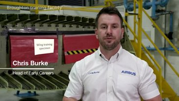 Airbus Chris Burke Welcome Video
