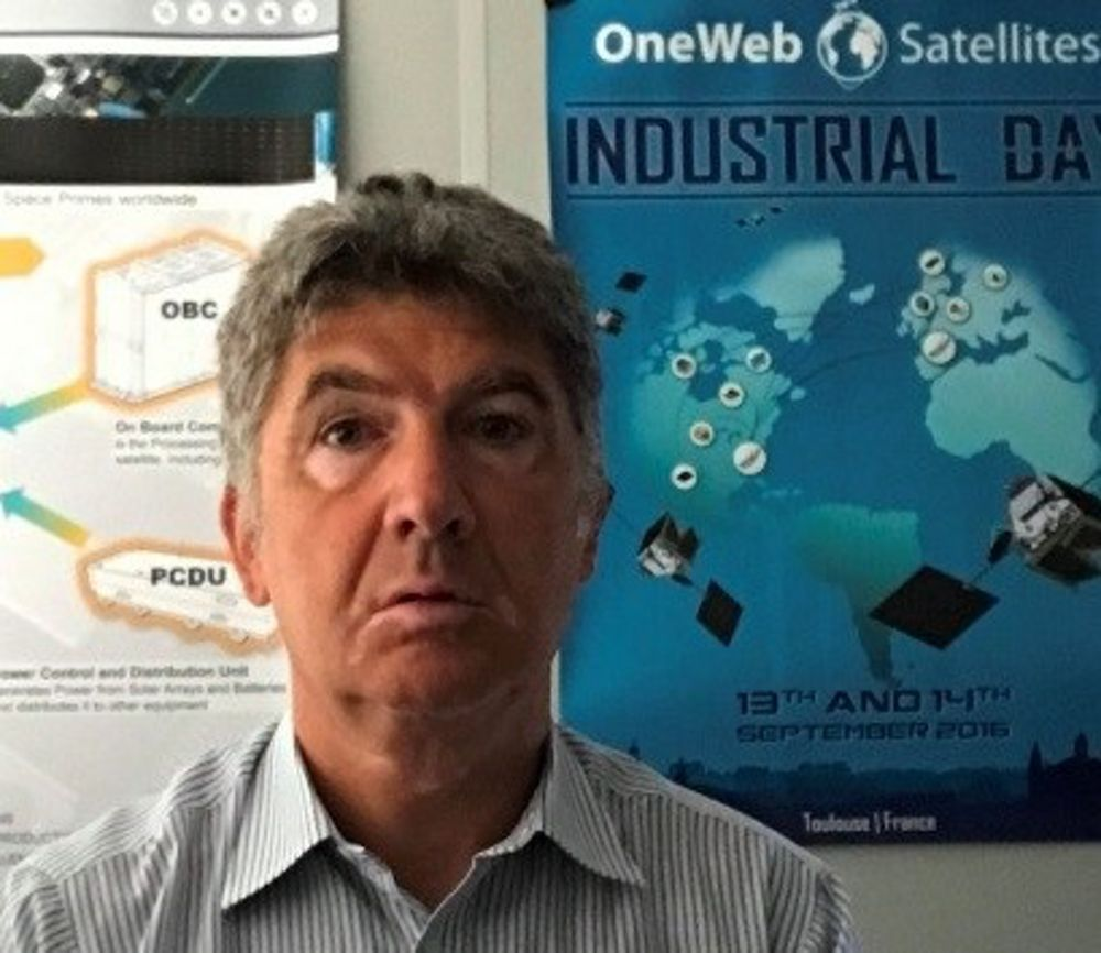 Philippe Galland, one of the mentors for Airbus' 2018 Airnovation Summer Academy, is the OneWeb Return of Experience Manager at Airbus Defence and Space.