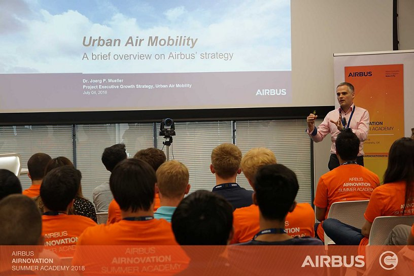 Airnovation Urban Air Mobility Livestream