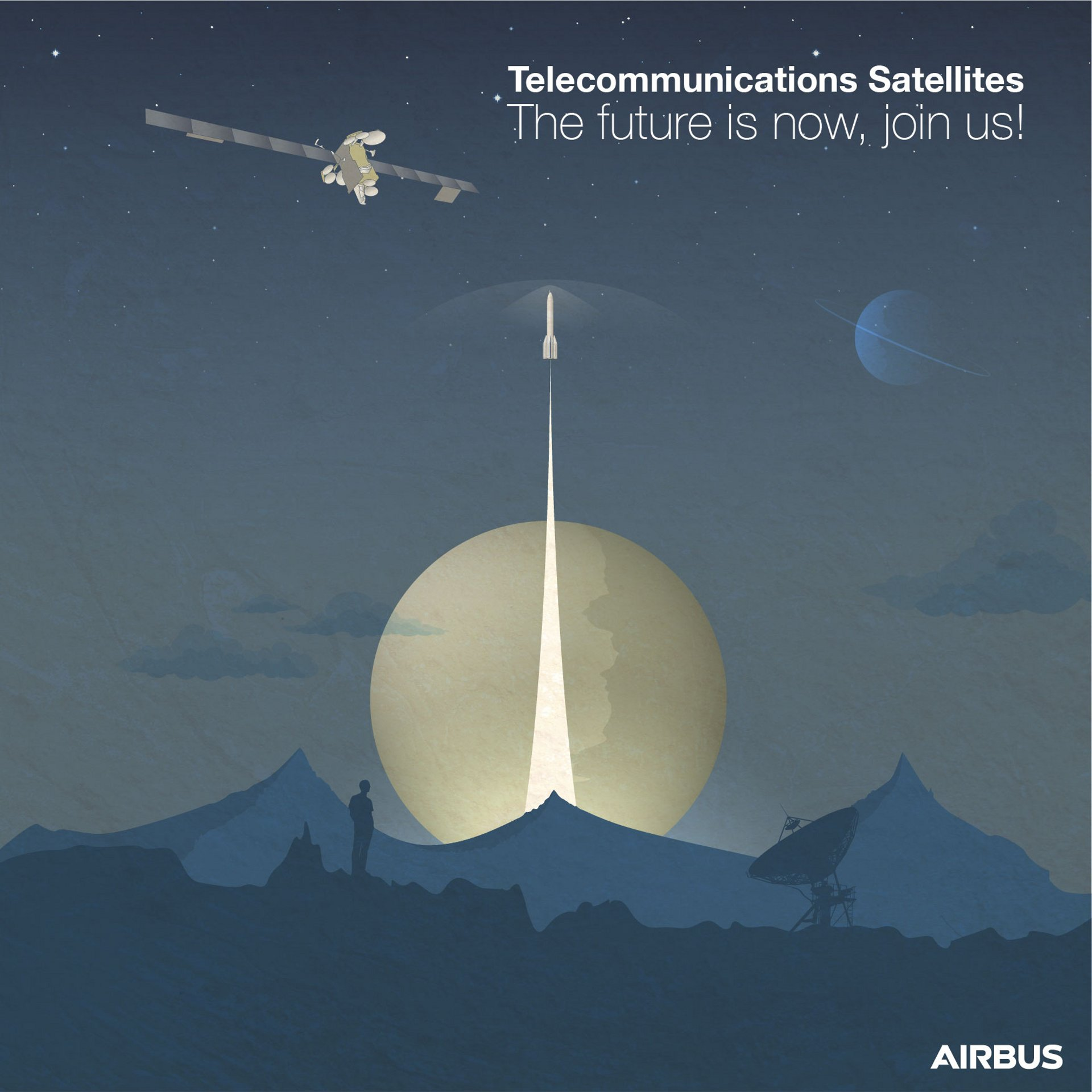 We are hiring in Telecommunications Satellites