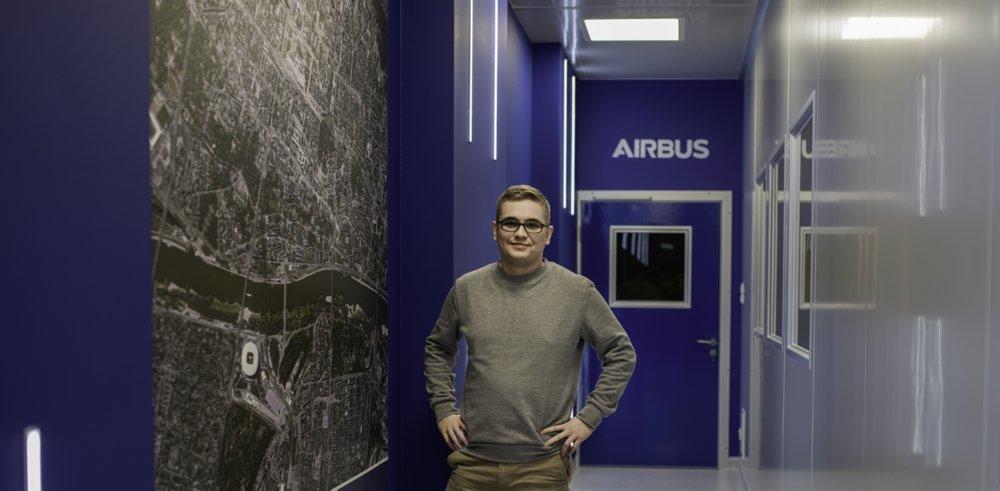 Adam at Satellite Program at Airbus Poland