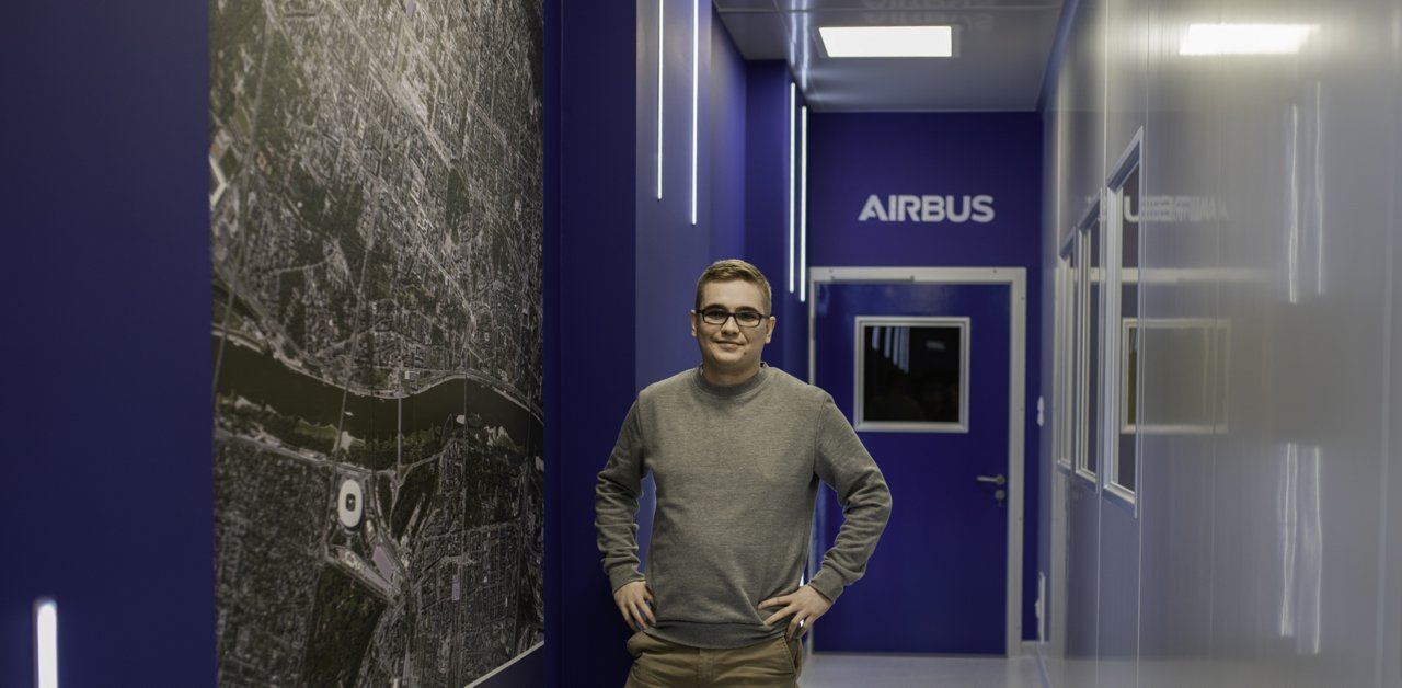 Adam at Satellite Program at Airbus Poland