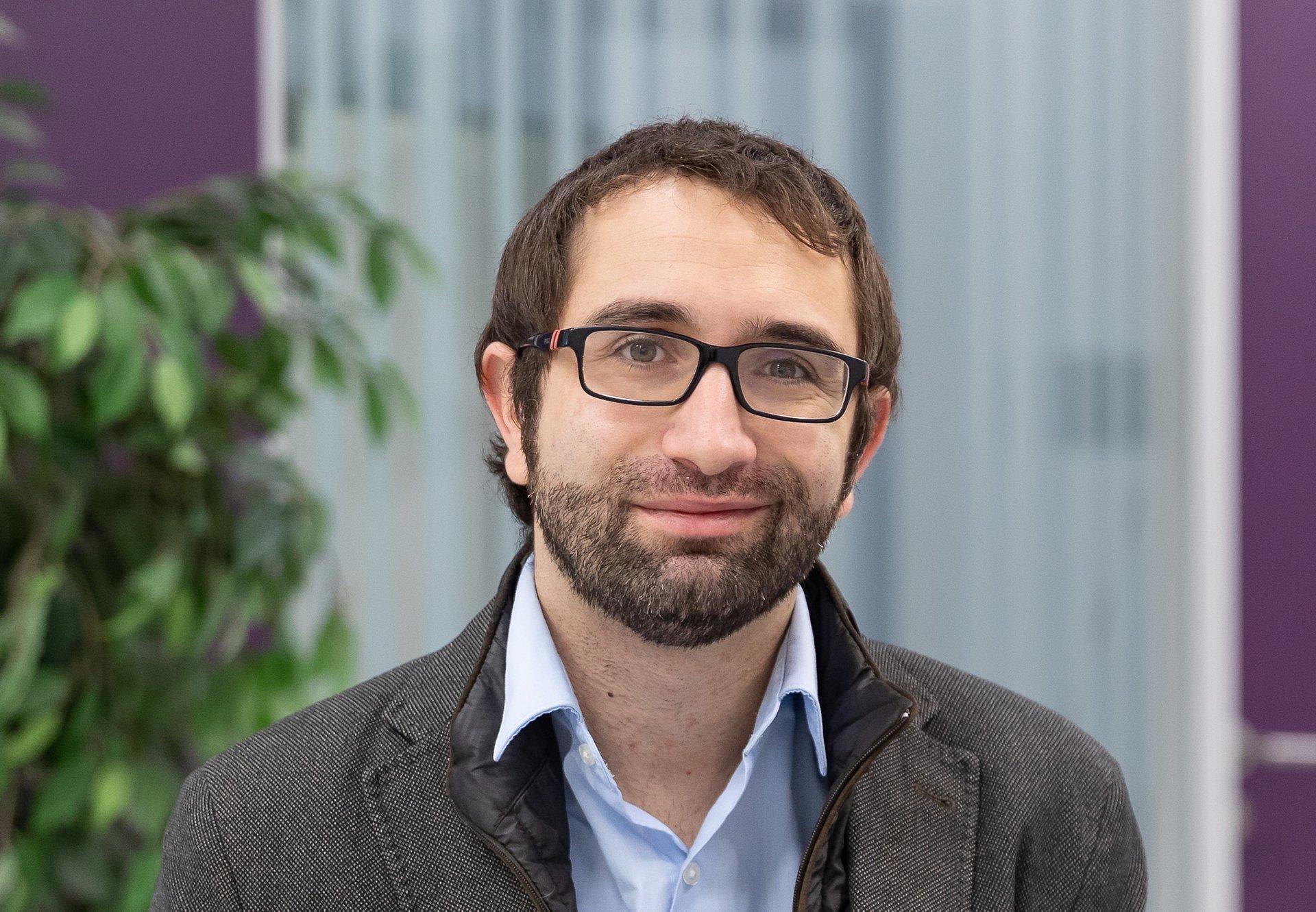 Portrait of Alvaro, Head of Protospace project in Madrid.