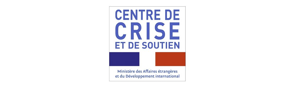 The French Crisis and Support Centre (CDCS) logo.