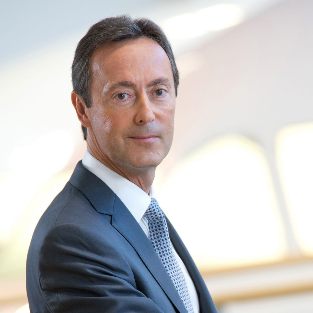 Photo of Fabrice Brégier, President of Airbus Commercial Aircraft from 2012 to 2018.