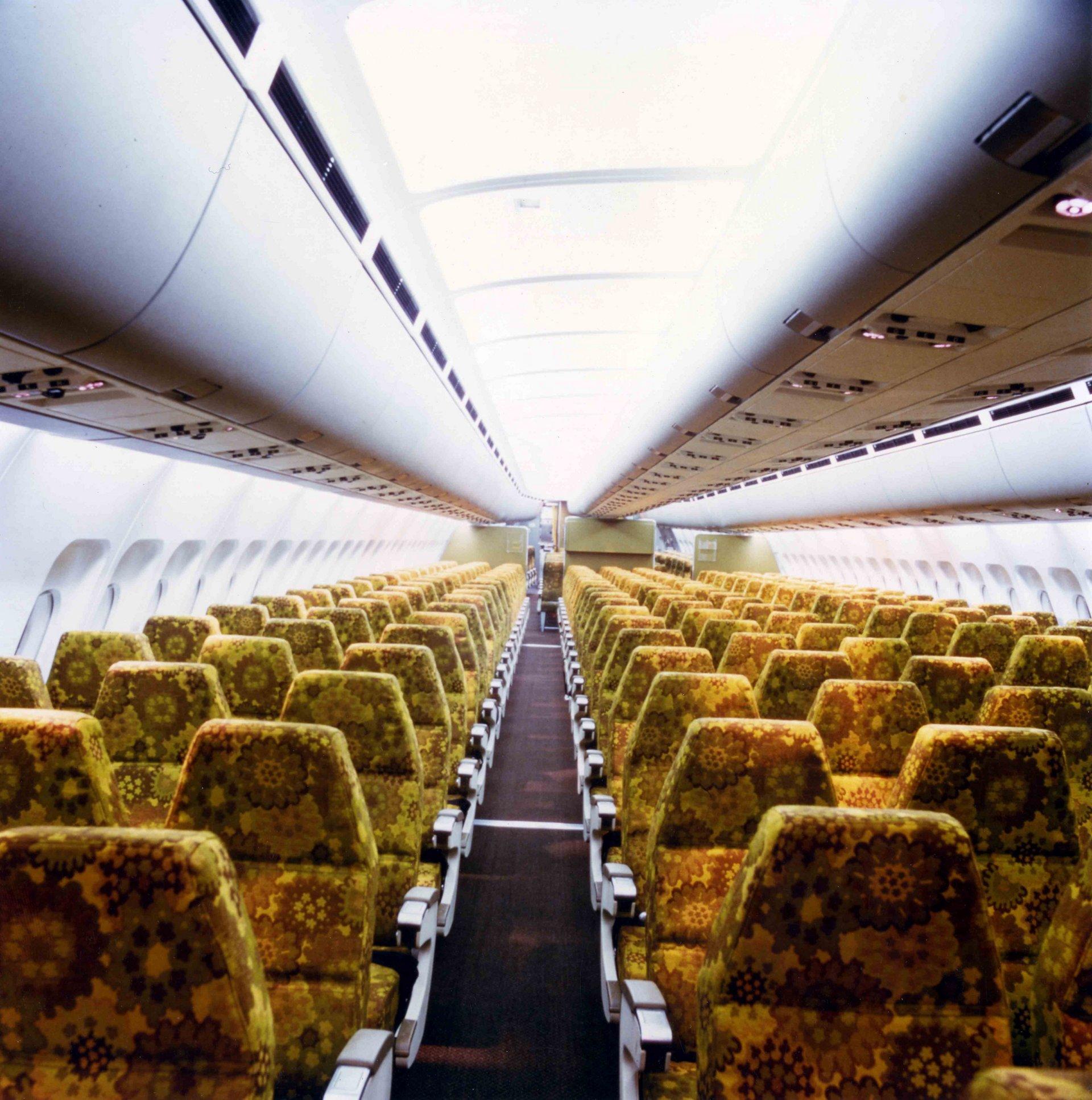 A300B Passenger Cabin