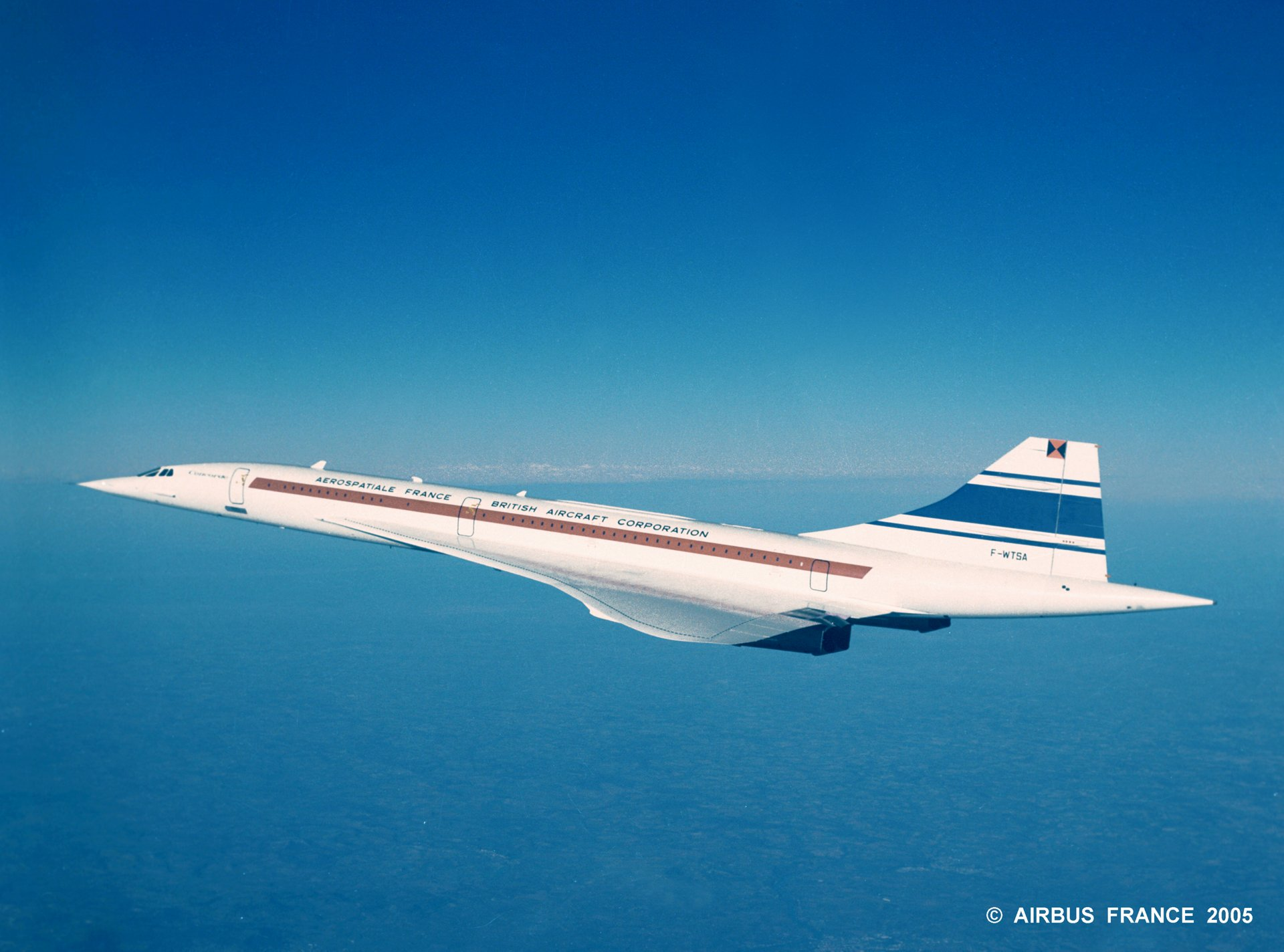Concorde Aerospatiale France - British Aircraft Corporation
