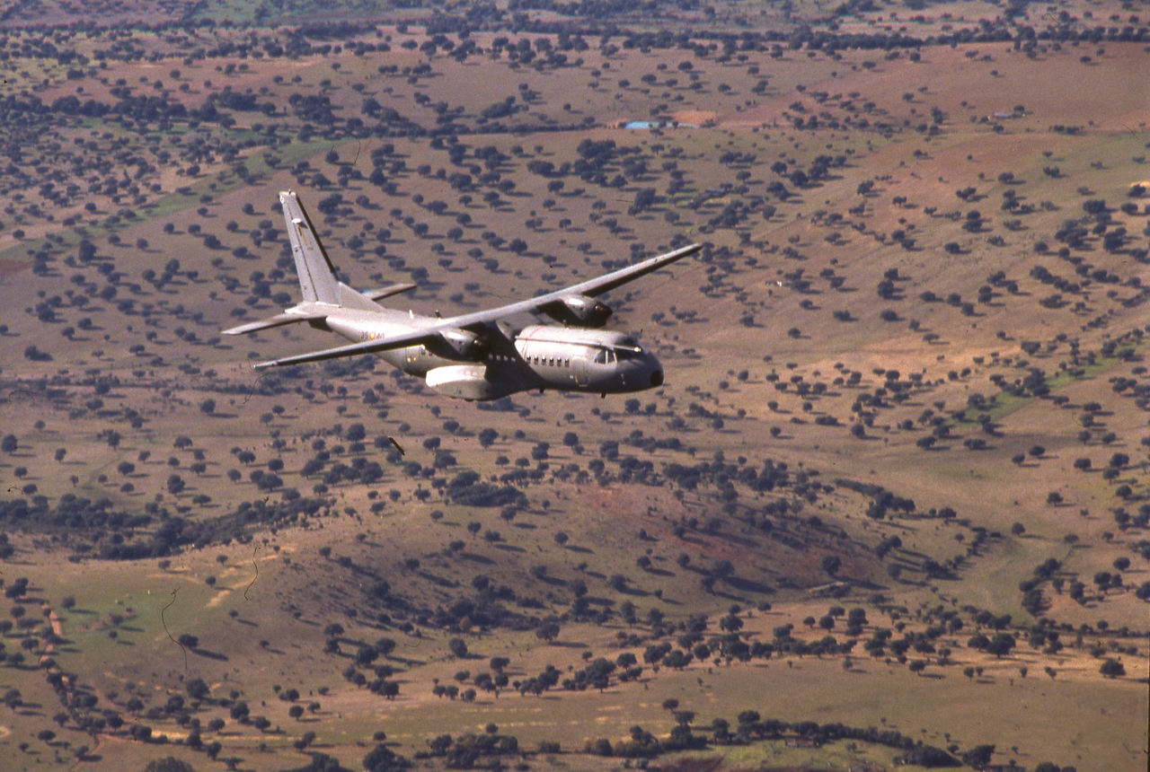 The Airbus C295 tactical transport aircraft made its first flight 1998.
