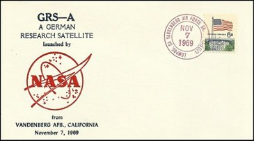 Azur Postmark  07-November-1969