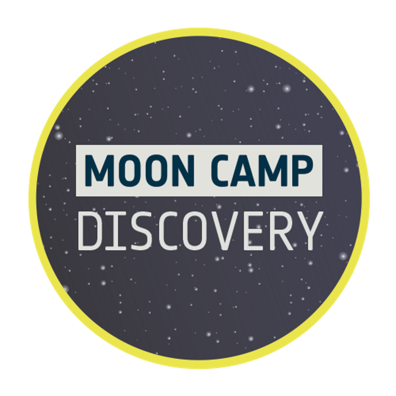 Logo for the Airbus Foundation-supported Moon Camp Challenge's beginner level.