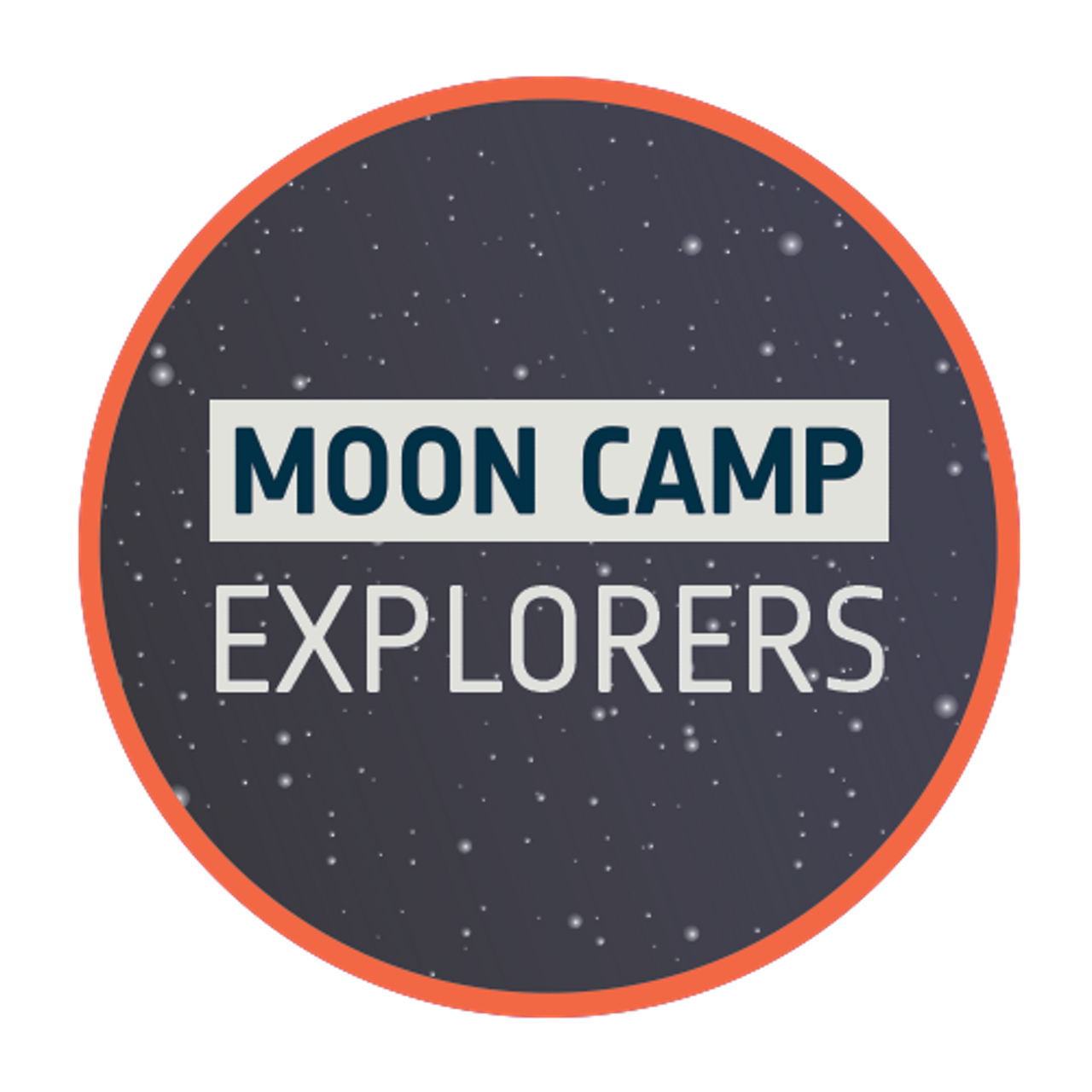 Logo for the intermediate level of the Airbus Foundation-supported Moon Camp Challenge.