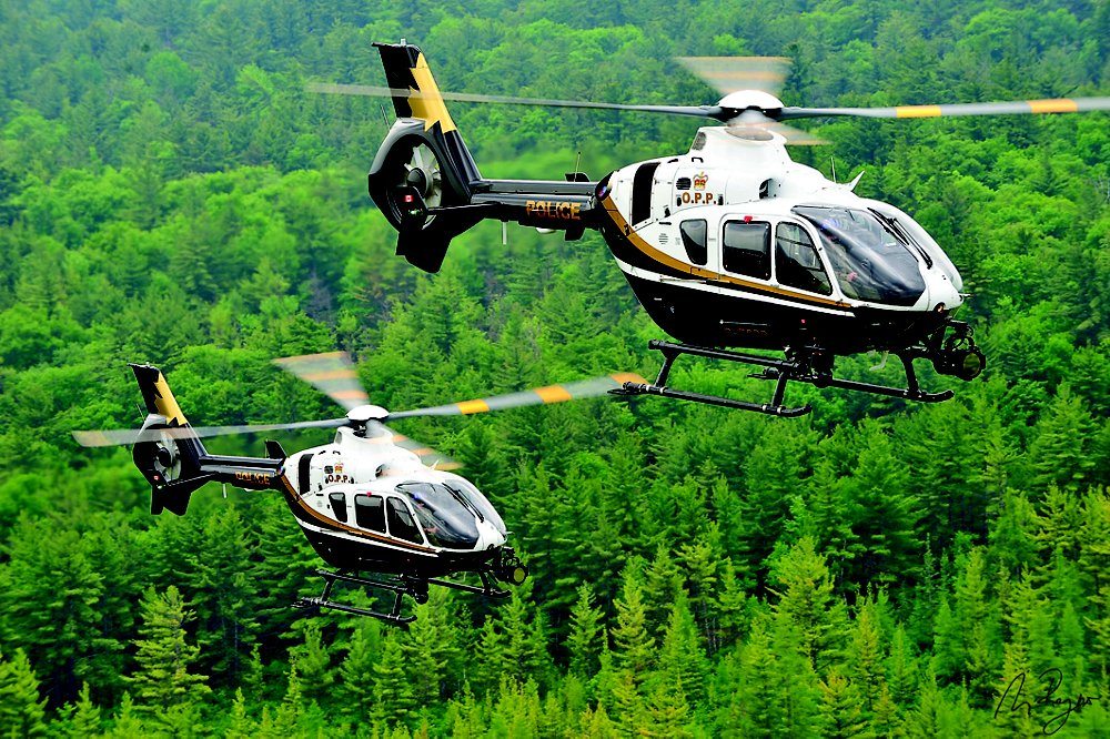 Airbus helicopters are present in Canada's utility and para-public markets, with operators including the Ontario Provincial Police – which flies H135s.