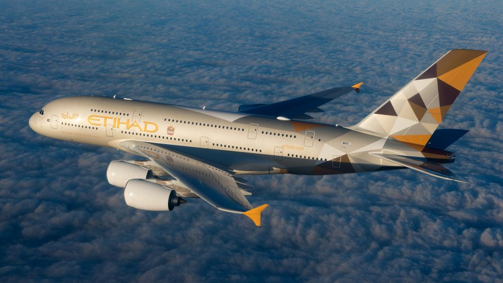 Africa Middle East A380 Etihad