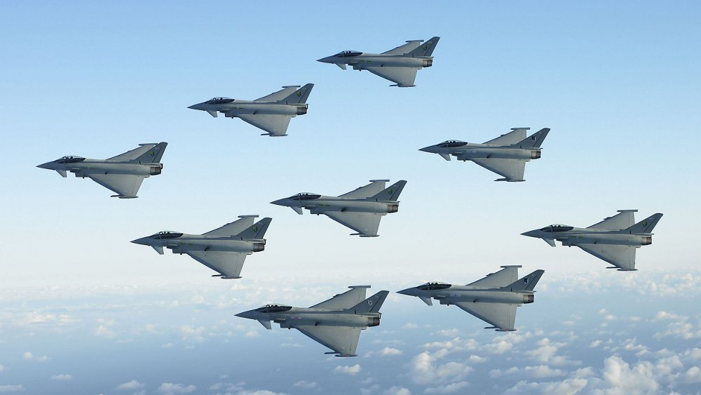 Africa Middle East Eurofighters