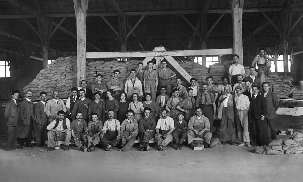 First employees of Saint Eloi