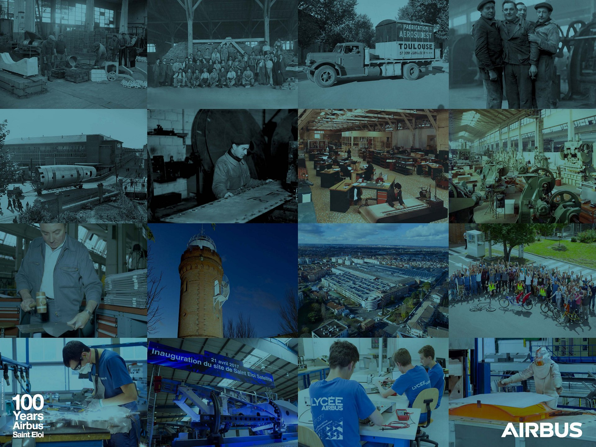 Airbus Saint Eloi celebrates ... 100 years of Passion