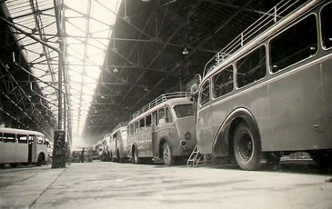 6 Chaîne Assemblage Carrosserie Autobus 1945