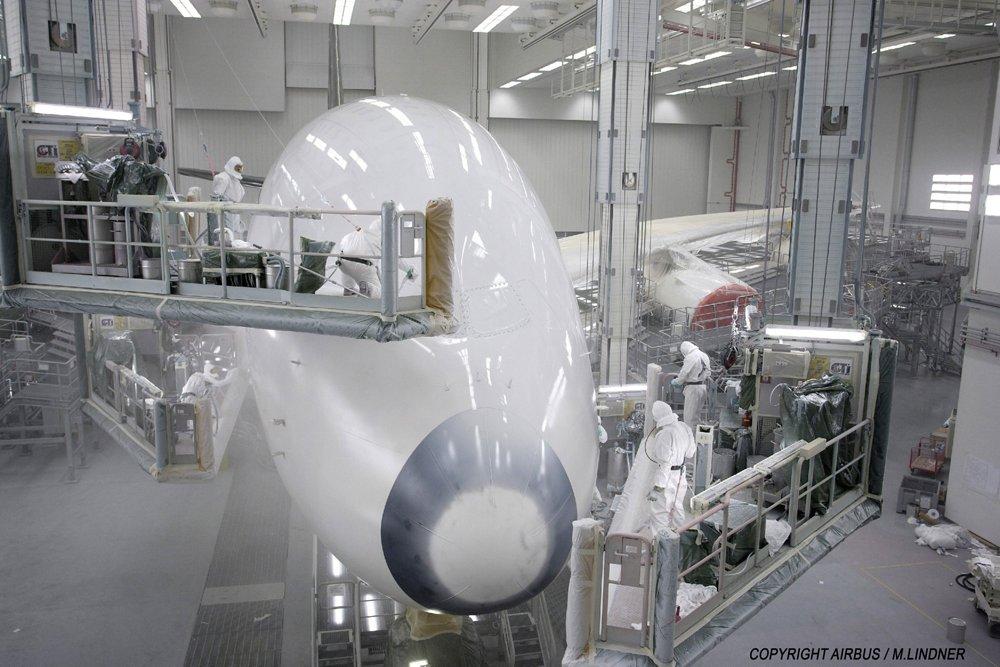 Germany Hamburg A380 Production 31