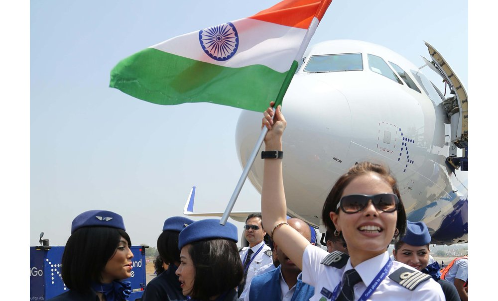 India Indigo Airlines A320 MEDIUM
