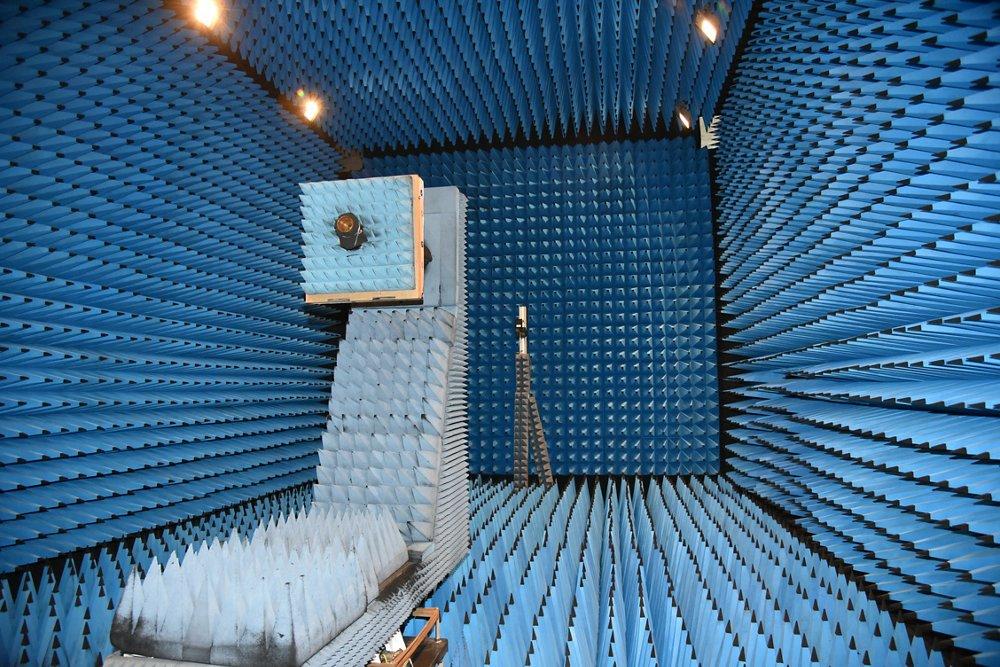 Airbus Italia Anechoic Chamber