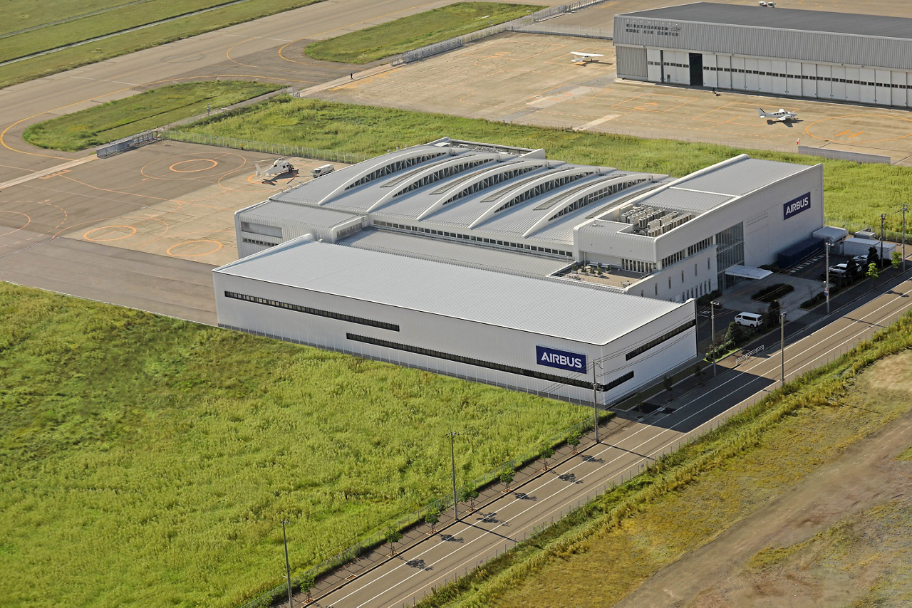 Airbus Helicopters Kobe facility