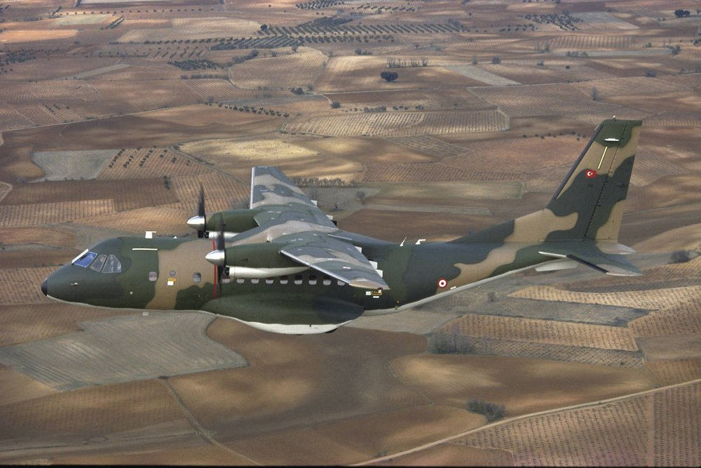 The Turkish Armed Forces operate the largest fleet of Airbus-produced CN235 transport aircraft.