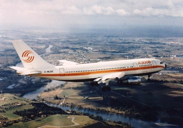 A300B In Flight