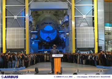 Airbus Assembly Line Opening