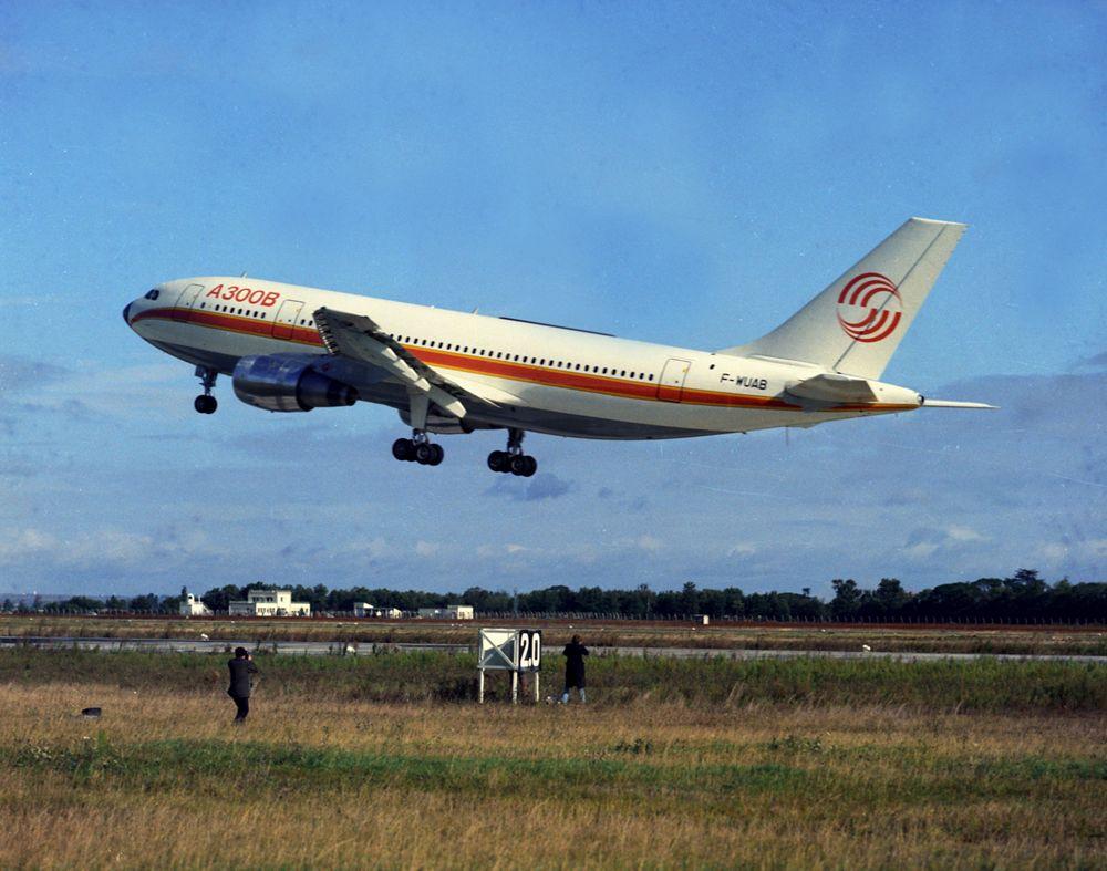 First Flight Of A300B