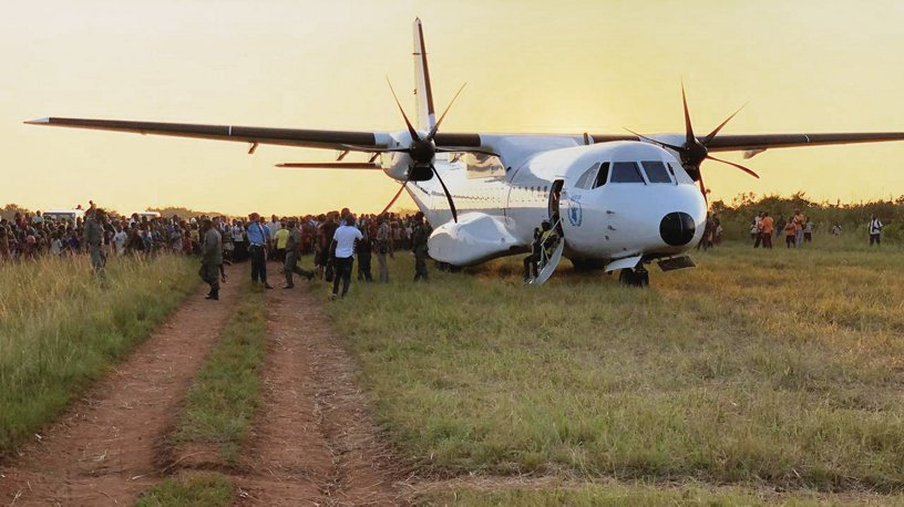 Airbus Foundation relief flight in Mozambique