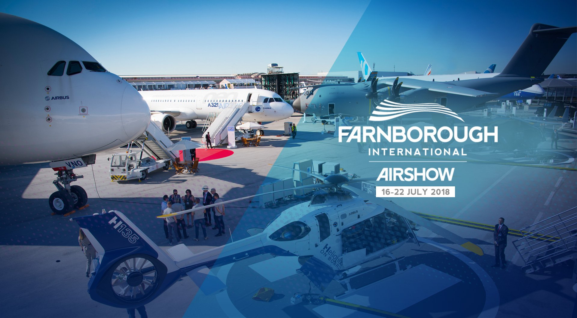 """New season of flight"" at Farnborough airshow"