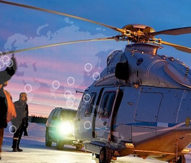 Helicopter global network
