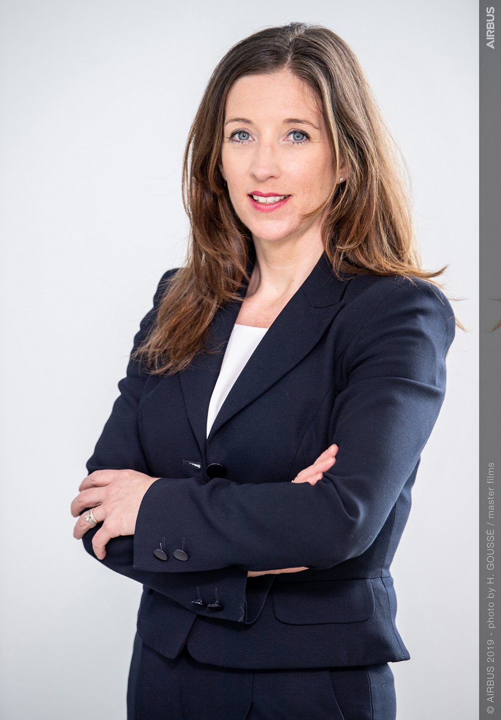 Photo of Julie Kitcher, Airbus EVP Communications and Corporate Affairs and a member of the Executive Committee.