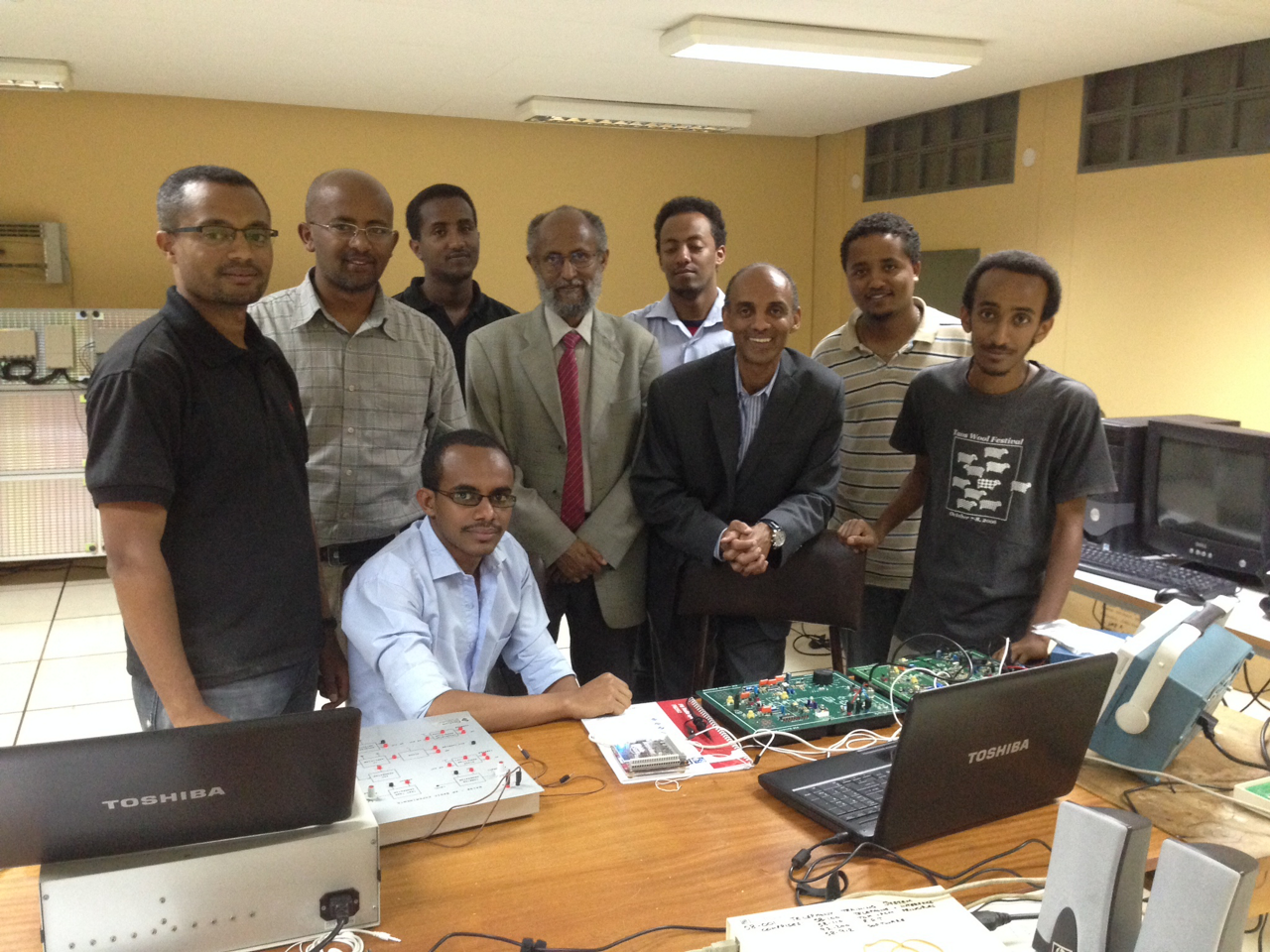 Team of African Engineering Deans Association