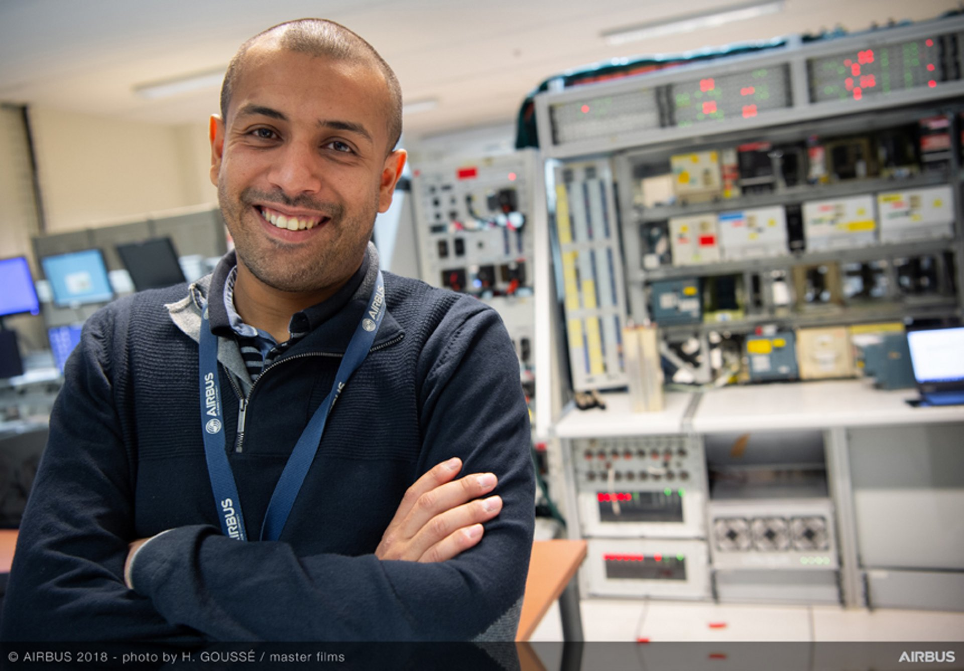 A data scientist at Airbus' Flight and Integration Test Centre, Adil Soubki focuses on predictive maintenance, anomaly detection and root cause analysis in his work