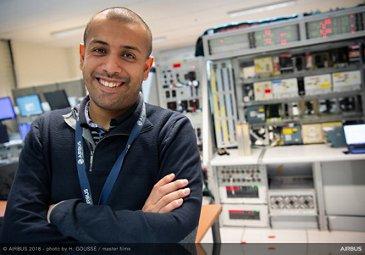 Adil Soubki, Airbus data scientist