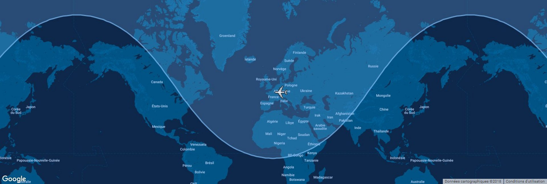 A321 Map