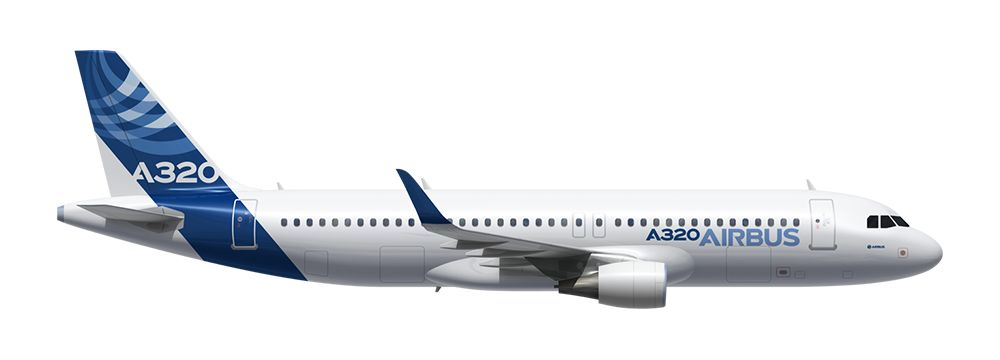 Image result for Airbus A320CEO png