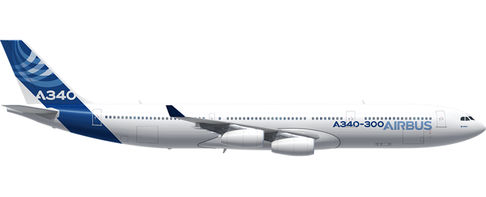 A340 300 A340 Family Airbus