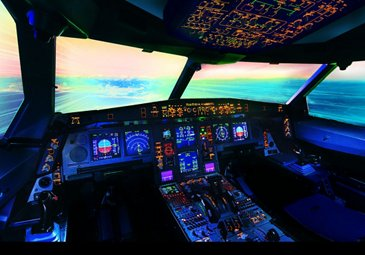 AC 564 01 20150810 PP A330 COCKPIT BY NIGHT 039 Def