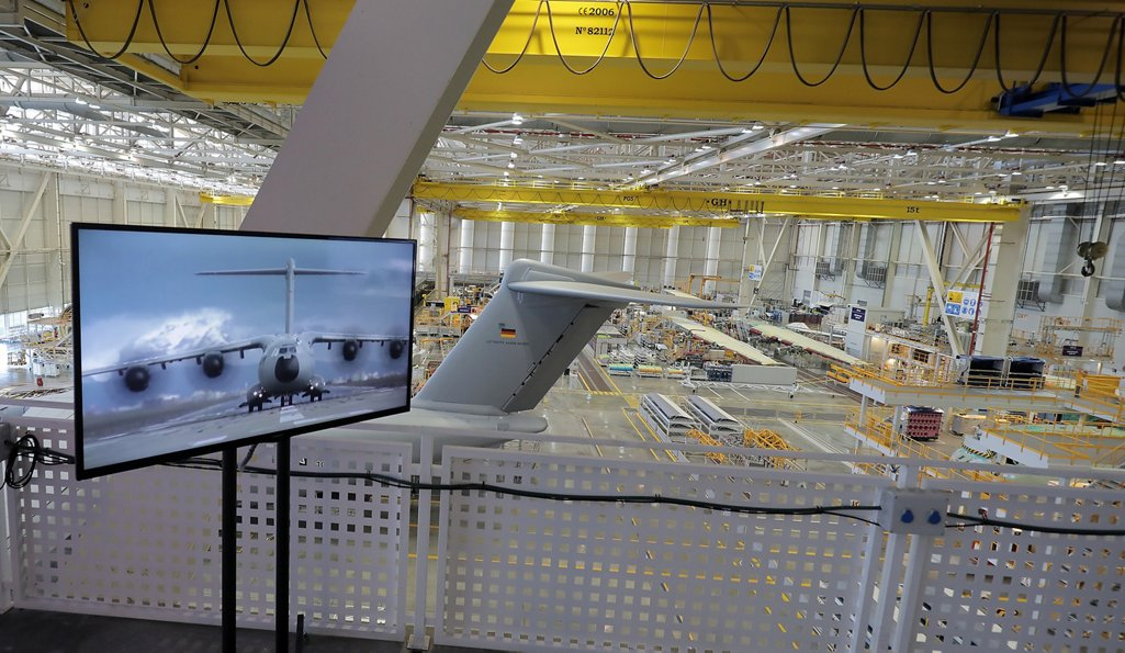 The San Pablo and Tablada sites, located in the Seville area, serve as the epicentre of Airbus' military transport business – with final assembly lines for the four-engine turboprop-powered A400M airlifter and twin-turboprop C295 and CN235 transports.