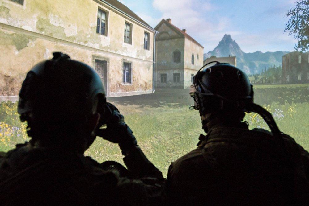 Reportage M6 sur le simulateur terrestre au CFA
